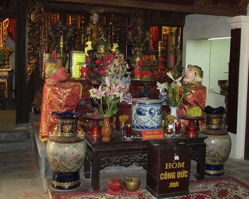 Các bộ tứ trong thần điện Việt: Hoa Lư Tứ trấn Dam-hoa